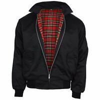 Relco Black Harrington Jacket Skinhead Mod Scooter Ska Northern Soul XS - XXXL