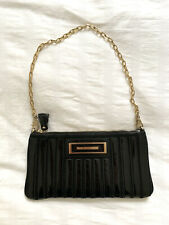 ANYA HINDMARSH Black Clutch Bag. Excellent Condition