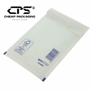 Pack of 200 Genuine Arofol White Bubble Padded Envelopes Courier Bags by CPS