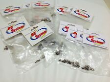 Job lot of RC Helicopter Screws Fixings RC SYSTEM  25 Bags Over 700 Screws