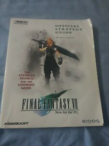 Final Fantasy VII Official Strategy Guide Now for PC Ultimate Source Paperback