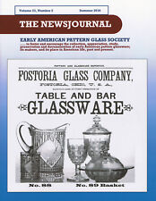 Early American Pattern Glass Society NewsJournal 23-2: Fostoria 1st Two patterns