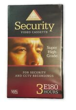 BASF 60PK VHS SECURITY VIDEO TAPES E180 HIGH GRADE CCTV & GENERAL RECORDING