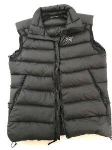 Arcteryx SV Down Puffer Jacket Mens Medium Black - Super Rare And Near New