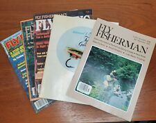 5 Vintage Fly Fishing Magazines 1980's