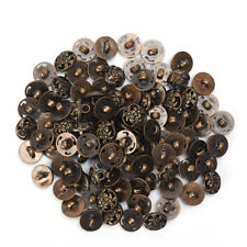 100pcs Mix Shank DIY Sewing Buttons 12.5mm Jacket Coat Buttons Craft Diy  O