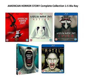 AMERICAN HORROR STORY COMPLETE SERIES 1-5 Blu Ray Seasons 1 2 3 4 5 UK Release