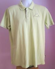 VTG Ladies KAPPA Lime Green Collared Shortsleeve Polo Shirt Size XL (#21)