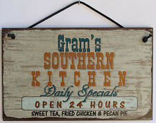 Gram  s Sign Southern Kitchen Grandma Fried Country South Barbecue Cook ing Soul