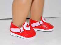 """18"""" Dolls Clothes Red Love Shoes Fits American Girl Doll Our Generation Journey"""