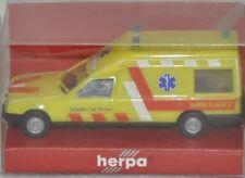 """Herpa MB Miesen Bonna 124 """"AMBULANCE broeder de Vries,NL"""", H0 1:87, neu + OVP"""