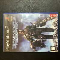 TERMINATOR 3 THE REDEMPTION Sony Playstation 2 PS2 PAL Game