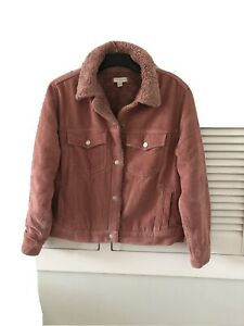 Pink Cord Jacket Size 12