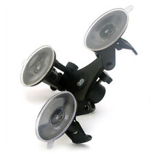 Suction Cup Triple Mount Low Photo Accs Gopro Hero 2 3 3+ 4 Camera Holder for