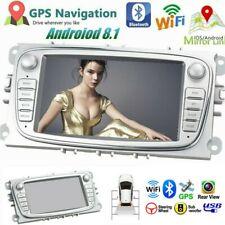 "7"" Doble 2Din Radio De Coche GPS Navi WIFI Android 8.1 para Ford Focus Mondeo ES"