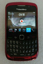 BlackBerry Curve 9300 3G Smartphone - Red - Locked to Vodafone