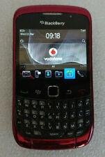 BlackBerry Curve 9300 3 G Smartphone-Red-Verrouillé à Vodafone