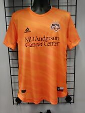 2020 adidas AUTHENTIC HOUSTON DYNAMO HOME JERSEY (GE5924) SIZE MENS LARGE