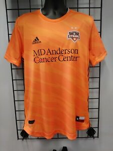 2020 adidas AUTHENTIC HOUSTON DYNAMO HOME JERSEY (GE5924) SIZE MENS X-LARGE