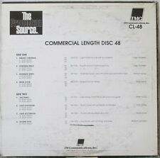 THE PRODUCTION SOURCE Commercial Length Disc 48 LP Music Library CL-48