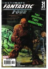 Ultimate Fantastic Four 31 Zombie 1:15 Variant Signed by Millar Suydam Land