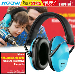 Mpow Kids Baby Ear Muffs Hearing Protection NRR 25dB Noise Reduction Earmuffs AU