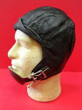USN/USMC TYPE 1092 LEATHER FLYING HELMET W/CHIN CUP