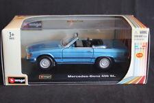 Bburago Mercedes-Benz 450 SL 1:32 blue (JS)