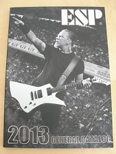 ESP JAPAN 2013 GUITAR & BASS GENERAL CATALOG 202 PAGE NEW