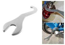 2 in 1 Bike Lock Ring Remover Bottom Bracket Repair Tool Pedal Spanner Wrench