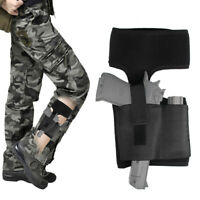Tactical Ankle Leg Holster Pouch Holder Belt Concealed Army For Pistol Gun 17 99