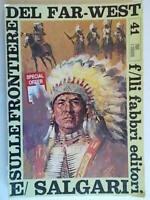Sulle frontiere del far westSalgari emilioFabbri1968bambini azione western