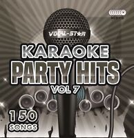 VOCAL-STAR PARTY HITS 7 KARAOKE CDG CD+G DISC SET 150 SONGS