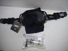 NEW Motorcross Smith Optics Goggles Black w/ Clear & Bag NIB # 1349