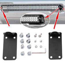 Front Lower Hidden Bumper 30 or 40 inch Curved LED Light Bar Mounting Brackets