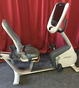 Precor RBK 885.  Recumbent exercise bike. Used RECONDITIONED