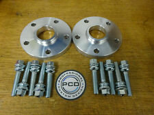 1 Pair AUDI Q7 5x112 Hubcentric Spacers, 25mm Wide, 66.5CB, 10 Bolts