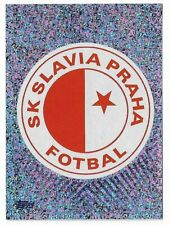 CHAMPIONS LEAGUE TOPPS 2019-20 2020 FIGURINA N.578 SLAVIA PRAHA BADGE