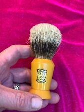 Vintage Kent England Superior Sterilizd V5 bakelite Shaving brush~Badger bristle