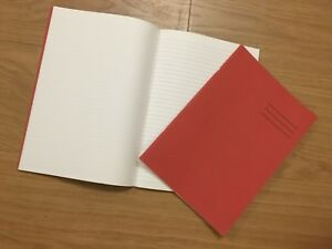 A4 EXERCISE BOOKS SCHOOL NOTEBOOKS 64 PAGES RULED 8MM AND PLAIN ALTERNATIVE PGS