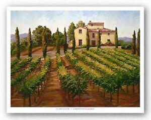 Hilltop Villa Susan Hoehn Art Print 32x24