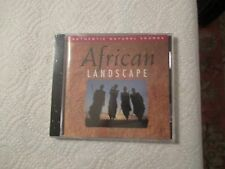 African LANDSCAPE Authentic Natural Sounds CD(New World 1994) Import/  NEW