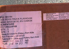 Pottery Barn Kids Food Truck Playhouse New In Box