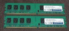 Kit de 8 GB (2 X 4 GB) DDR2 PC2-6400 PC Ram Baja Densidad Para Intel Hypertec FH977AA-HY