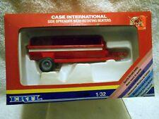VTG ERTL Die Cast Metal 1/32 Case International Side Spreader Farm Toy Org Box