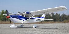 TOP Blue 400 Cessna182 RC KIT Propeller Plane Model W/O Motor Servo ESC Battery