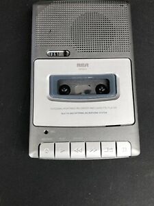 RCA Portable Recorder Cassette Player RP3503 Tested