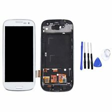 LCD Display Touch Screen Digitizer Rahmen für Samsung Galaxy S3 i9300 i9305 Weiß