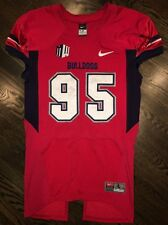 Game Worn Used Fresno State Bulldogs Football Jersey #95 Nike Size Large