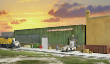 Walthers Cornerstone HO Scale Building/Structure Kit Lauston Shipping Background